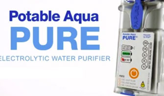 Potable Aqua Pure introduction and how to video