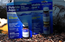 Potable Aqua Iodine tablets Potable Aqua Iodine Plus Germicidal tablets